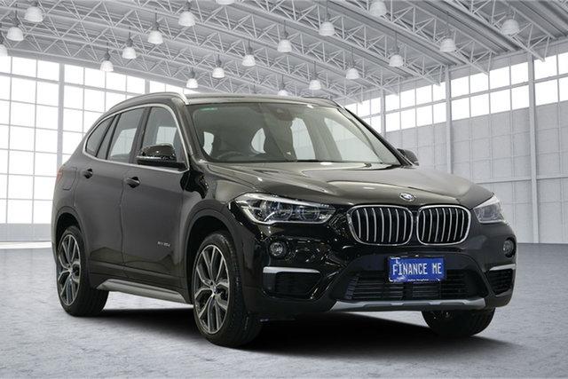 Used BMW X1 F48 xDrive20d Steptronic AWD, 2015 BMW X1 F48 xDrive20d Steptronic AWD Black 8 Speed Sports Automatic Wagon