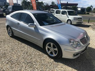 2005 Mercedes-Benz C200 Kompressor Silver 5 Speed Automatic Coupe.