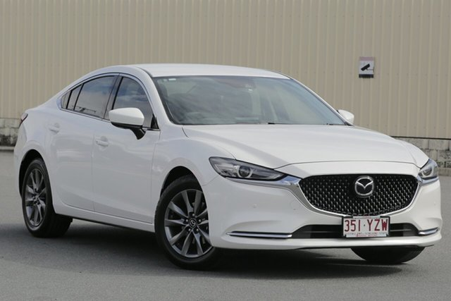 Used Mazda 6 GL1031 Touring SKYACTIV-Drive, 2018 Mazda 6 GL1031 Touring SKYACTIV-Drive Snowflake White 6 Speed Sports Automatic Sedan