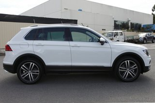 2018 Volkswagen Tiguan 5N MY19 162TSI DSG 4MOTION Highline Pure White 7 Speed.
