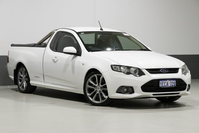 Used Ford Falcon FG MK2 XR6, 2012 Ford Falcon FG MK2 XR6 White 6 Speed Auto Seq Sportshift Utility