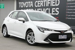 2018 Toyota Corolla Mzea12R Ascent Sport Glacier White 10 Speed Constant Variable Hatchback.