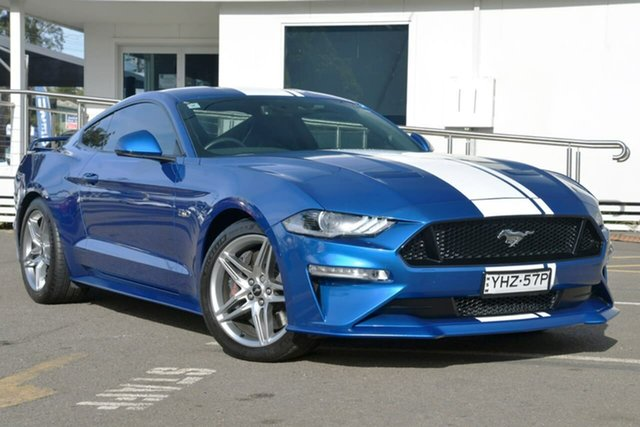 Used Ford Mustang FN 2018MY GT Fastback SelectShift, 2018 Ford Mustang FN 2018MY GT Fastback SelectShift Blue 10 Speed Sports Automatic Fastback