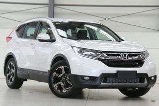 2019 Honda CR-V RW MY19 VTi-E FWD White Orchid 1 Speed Constant Variable Wagon.