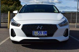 2018 Hyundai i30 PD MY19 Go Polar White 6 Speed Automatic Hatchback.