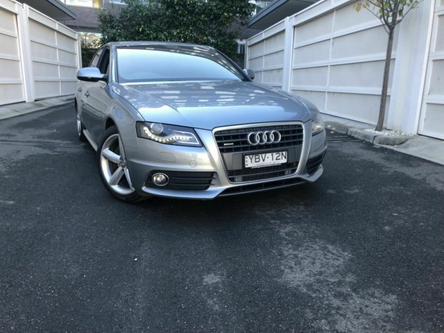Used Audi A4 B8 8K MY11 S Tronic Quattro, 2011 Audi A4 B8 8K MY11 S Tronic Quattro Grey 7 Speed Sports Automatic Dual Clutch Sedan