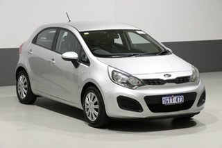 2012 Kia Rio UB S Silver 6 Speed Manual Hatchback