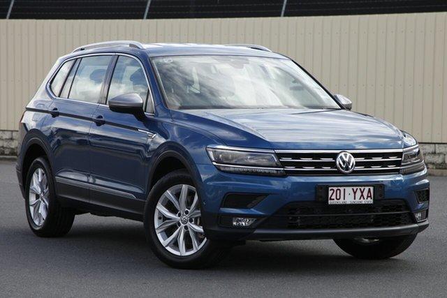 Demo Volkswagen Tiguan 5N MY18 132TSI Comfortline DSG 4MOTION Allspace, 2018 Volkswagen Tiguan 5N MY18 132TSI Comfortline DSG 4MOTION Allspace Blue Silk 7 Speed
