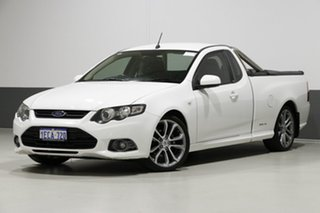2012 Ford Falcon FG MK2 XR6 White 6 Speed Auto Seq Sportshift Utility.