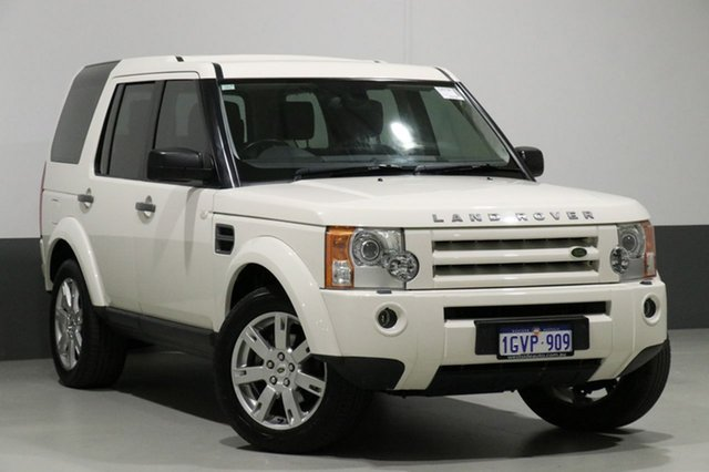 Used Land Rover Discovery 3 MY09 SE, 2009 Land Rover Discovery 3 MY09 SE White 6 Speed Automatic Wagon