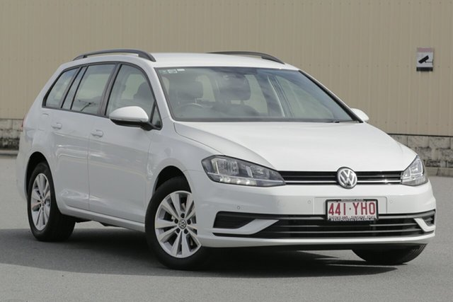 Used Volkswagen Golf 7.5 MY18 110TSI DSG Trendline, 2018 Volkswagen Golf 7.5 MY18 110TSI DSG Trendline White 7 Speed Sports Automatic Dual Clutch Wagon