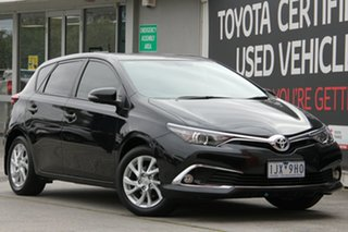 2017 Toyota Corolla ZRE182R Ascent Sport Ink 6 Speed Manual Hatchback.