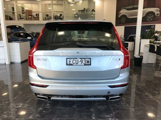 2018 Volvo XC90 L Series MY19 T6 Geartronic AWD R-Design Electric Silver 8 Speed Sports Automatic.