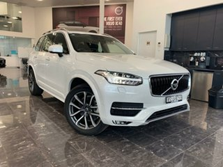 2018 Volvo XC90 L Series MY19 T6 Geartronic AWD Momentum Crystal White Pearl 8 Speed