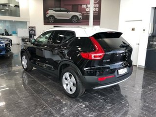 2018 Volvo XC40 536 MY19 T4 Momentum (FWD) Onyx Black & White Roof 8 Speed Automatic Wagon