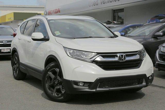 New Honda CR-V RW MY20 VTi-E FWD, 2020 Honda CR-V RW MY20 VTi-E FWD Platinum White 1 Speed Constant Variable Wagon