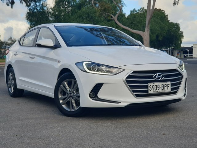 Used Hyundai Elantra AD MY17 Active, 2017 Hyundai Elantra AD MY17 Active White 6 Speed Sports Automatic Sedan