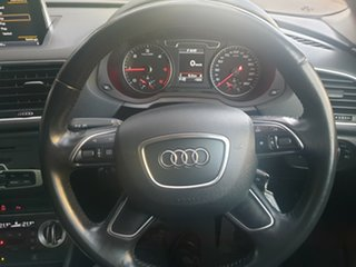 2015 Audi Q3 8U MY15 TDI S Tronic Quattro White 7 Speed Sports Automatic Dual Clutch Wagon