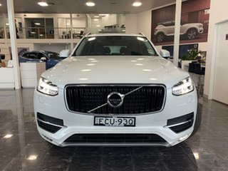 2018 Volvo XC90 L Series MY19 T6 Geartronic AWD Momentum Crystal White Pearl 8 Speed.