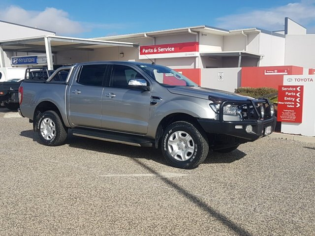 Used Ford Ranger PX MkII XLT 3.2 (4x4), 2015 Ford Ranger PX MkII XLT 3.2 (4x4) 6 Speed Automatic Dual Cab Utility