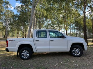 2019 Volkswagen Amarok 2H MY19 TDI420 4MOTION Perm Core Candy White 8 Speed Automatic Utility.