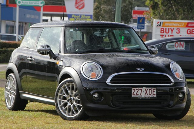 Used Mini Hatch R56 LCI Ray, 2013 Mini Hatch R56 LCI Ray Black 6 Speed Manual Hatchback