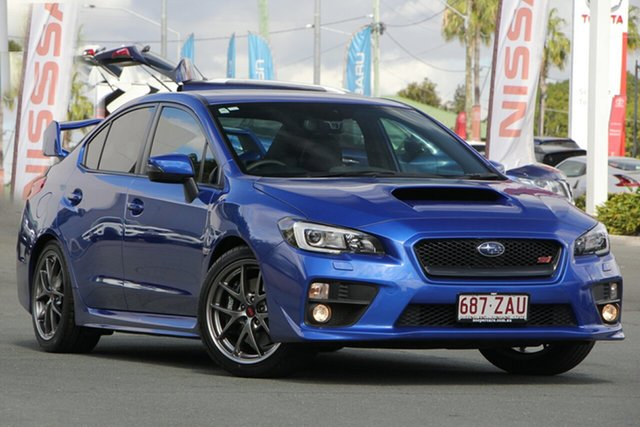 Used Subaru WRX V1 MY16 STI AWD Premium, 2016 Subaru WRX V1 MY16 STI AWD Premium Blue 6 Speed Manual Sedan