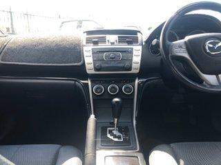 2009 Mazda 6 GH1051 MY09 Classic White 5 Speed Sports Automatic Sedan