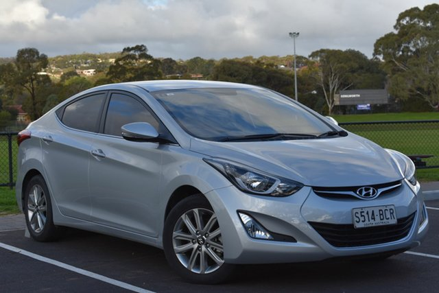 Used Hyundai Elantra MD3 Trophy, 2014 Hyundai Elantra MD3 Trophy Silver 6 Speed Sports Automatic Sedan