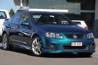 2012 Holden Commodore VE II MY12.5 SS Z Series Blue 6 Speed Sports Automatic Sedan.