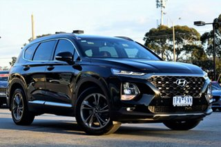 2018 Hyundai Santa Fe TM MY19 Highlander Black 8 Speed Sports Automatic Wagon