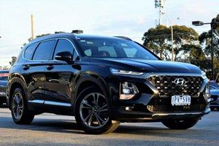 2018 Hyundai Santa Fe TM MY19 Highlander Black 8 Speed Sports Automatic Wagon.