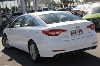 2017 Hyundai Sonata LF3 MY17 Active White 6 Speed Sports Automatic Sedan.