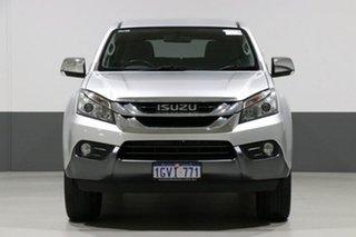 2017 Isuzu MU-X UC MY17 LS-U (4x2) Silver 6 Speed Auto Sequential Wagon.
