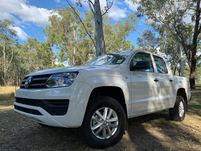 Demo Volkswagen Amarok 2H MY19 TDI420 4MOTION Perm Core, 2019 Volkswagen Amarok 2H MY19 TDI420 4MOTION Perm Core Candy White 8 Speed Automatic Utility