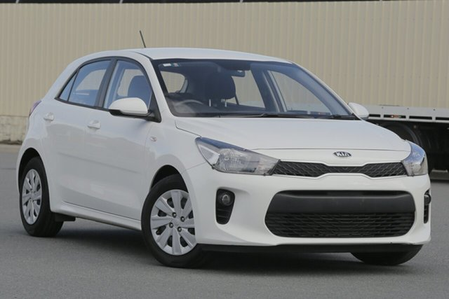 Used Kia Rio YB MY18 S, 2018 Kia Rio YB MY18 S White 4 Speed Sports Automatic Hatchback