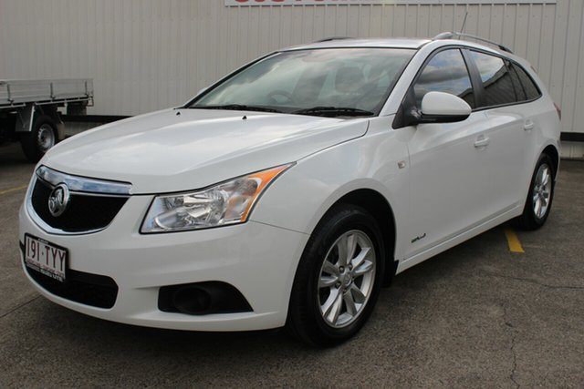 Used Holden Cruze JH Series II MY14 CD Sportwagon, 2014 Holden Cruze JH Series II MY14 CD Sportwagon White 6 Speed Sports Automatic Wagon