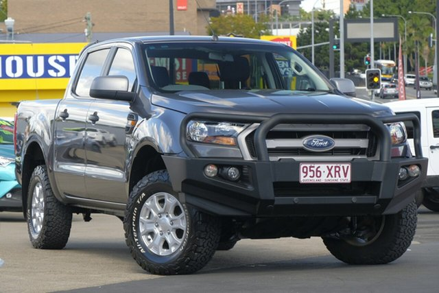 Used Ford Ranger PX MkII XLS Double Cab, 2017 Ford Ranger PX MkII XLS Double Cab Grey 6 Speed Sports Automatic Utility