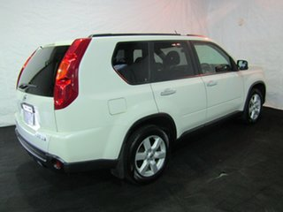 2010 Nissan X-Trail T31 MY10 TS White 6 Speed Manual Wagon.