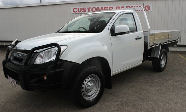 Used Isuzu D-MAX MY15 SX 4x2 High Ride, 2016 Isuzu D-MAX MY15 SX 4x2 High Ride White 5 Speed Sports Automatic Cab Chassis
