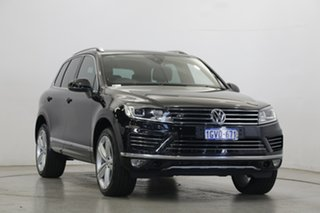 2017 Volkswagen Touareg 7P MY17 V8 TDI Tiptronic 4MOTION R-Line Deep Black Pearl Effect 8 Speed