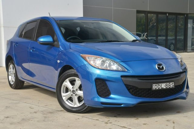 Used Mazda 3 BL10F2 Neo Activematic, 2012 Mazda 3 BL10F2 Neo Activematic Blue 5 Speed Sports Automatic Hatchback
