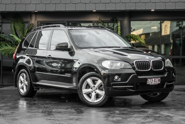 Used BMW X5 E70 MY09 xDrive30d Steptronic, 2008 BMW X5 E70 MY09 xDrive30d Steptronic Black 6 Speed Sports Automatic Wagon