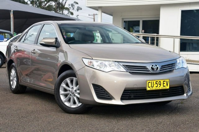 Used Toyota Camry ASV50R Altise, 2013 Toyota Camry ASV50R Altise Gold 6 Speed Sports Automatic Sedan