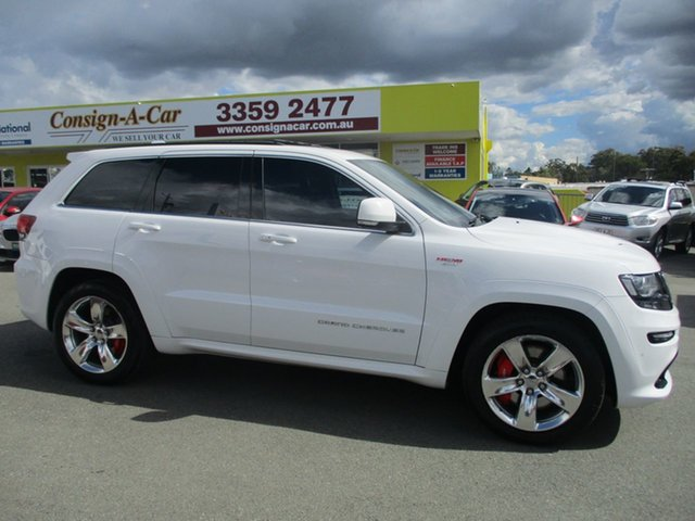 Used Jeep Grand Cherokee WK MY15 SRT, 2015 Jeep Grand Cherokee WK MY15 SRT White 8 Speed Sports Automatic Wagon