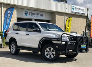 2015 Toyota Landcruiser Prado GDJ150R GX White 6 Speed Sports Automatic Wagon