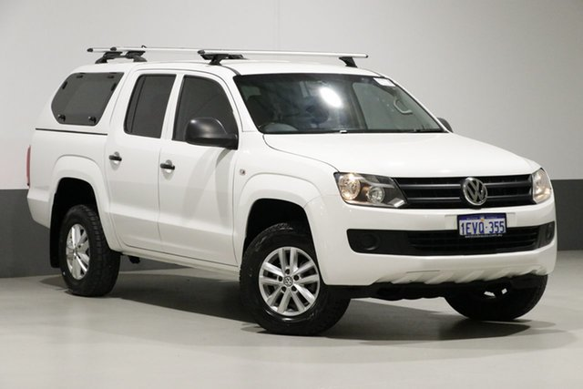 Used Volkswagen Amarok 2H MY15 TDI420 Core Edition (4x4), 2015 Volkswagen Amarok 2H MY15 TDI420 Core Edition (4x4) White 8 Speed Automatic Dual Cab Utility
