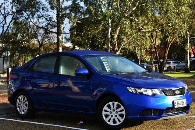 Used Kia Cerato TD MY11 S, 2011 Kia Cerato TD MY11 S Blue 6 Speed Sports Automatic Sedan