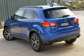 2017 Mitsubishi ASX XC MY17 LS 2WD Blue 6 Speed Constant Variable Wagon.