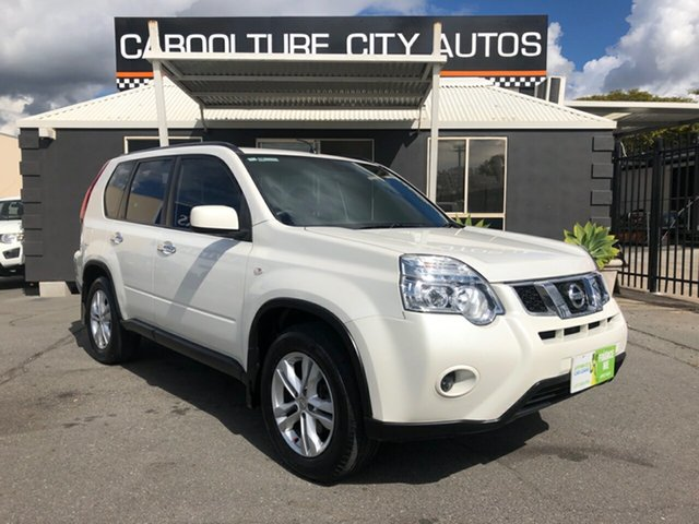 Used Nissan X-Trail T31 Series IV ST 2WD, 2012 Nissan X-Trail T31 Series IV ST 2WD White 6 Speed Manual Wagon